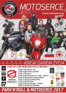 foto: Park'n'Roll & Motoserce 2017 - motoserce plakat 2017 214x300