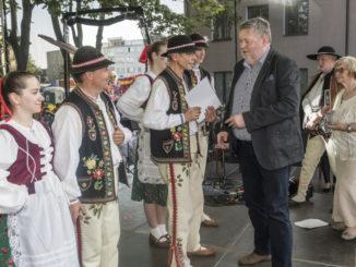Uczestnicy Nadbużańskich Spotkań Folklorystycznych