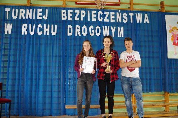 Uczniowie podczas konkursu