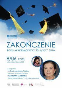foto: Zakończenie roku akademickiego Sokołowskiego Uniwersytetu Trzeciego Wieku - sutw 211x300