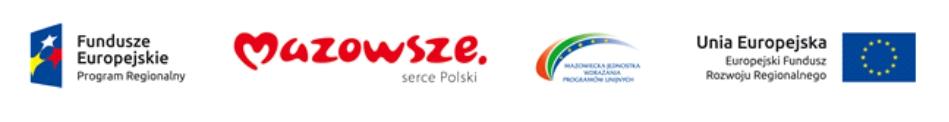 foto: Logo Fundusze Europejskie - logo 1