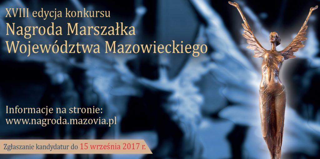 foto: Nagroda Marszałka Województwa Mazowieckiego - nagroda marszalka 1024x510