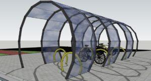 foto: 30 milionów zł dla Sokołowa - wizualizacja stacja wypożyczeń rowerów 300x161