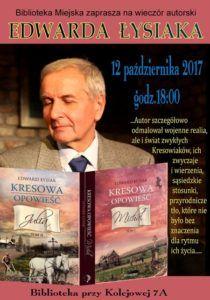 foto: Wieczór autorski Edwarda Łysiaka - Lysiak 210x300