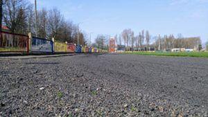 foto: Przebudowa sokołowskiego stadionu - bieżnia na stadionie OSiR do wymiany 300x169