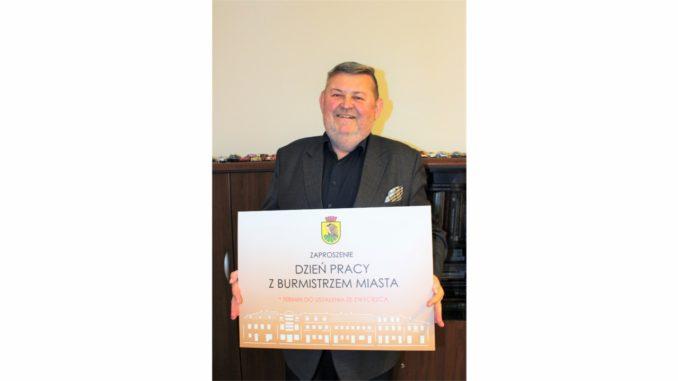 Burmistrz z zaproszeniem