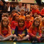 Przedszkolaki podczas biesiady