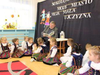 Przedszkolaki na spotkaniu z Burmistrzem