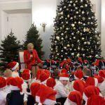 Przedszkolaki w Pałacu Prezydenckim