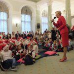 foto: Przedszkolaki z MP2 w Pałacu Prezydenckim - DSCF8633 150x150