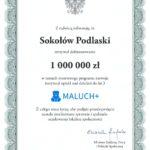 foto: Kolejny milion złotych dla Sokołowa Podlaskiego - 1771 001 150x150