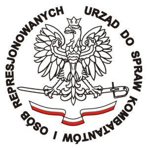 foto: Informacja Urzędu do Spraw Kombatantów i Osób Represjonowanych - logo UDSKiOR 300x300