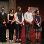 Aktorzy podczas występu