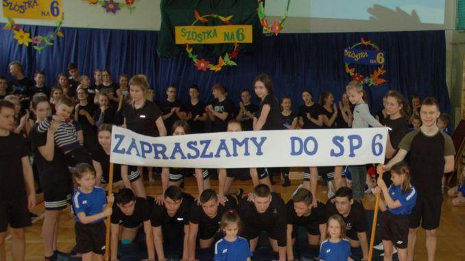 Uczniowie podczas dni otwartych