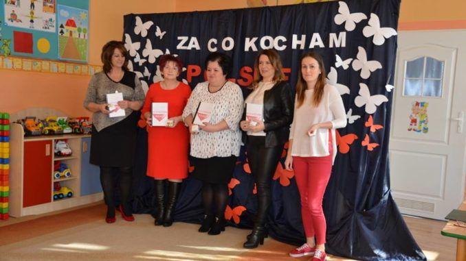 Sokołowskie nauczycielki biorące udział w konkursie