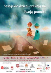 foto: Mazowsze dla Syrii - plakat 212x300