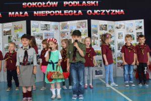"""foto: """"SOKOŁÓW PODLASKI - MOJA MAŁA NIEPODLEGŁA OJCZYZNA"""" konkurs w Leśnej Krainie - 14 1 300x200"""