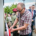 foto: Odsłonięto pomnik  Pamięci sokołowian-Żołnierzy Armii Krajowej, cichociemnych - spadochroniarzy walczących o Niepodległość Ojczyzny - 6T6A8814 150x150