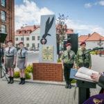 foto: Odsłonięto pomnik  Pamięci sokołowian-Żołnierzy Armii Krajowej, cichociemnych - spadochroniarzy walczących o Niepodległość Ojczyzny - 6T6A8826 150x150