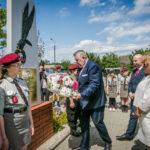 foto: Odsłonięto pomnik  Pamięci sokołowian-Żołnierzy Armii Krajowej, cichociemnych - spadochroniarzy walczących o Niepodległość Ojczyzny - 6T6A8838 150x150
