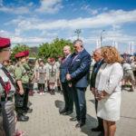 foto: Odsłonięto pomnik  Pamięci sokołowian-Żołnierzy Armii Krajowej, cichociemnych - spadochroniarzy walczących o Niepodległość Ojczyzny - 6T6A8841 150x150