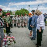 foto: Odsłonięto pomnik  Pamięci sokołowian-Żołnierzy Armii Krajowej, cichociemnych - spadochroniarzy walczących o Niepodległość Ojczyzny - 6T6A8861 150x150