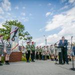 foto: Odsłonięto pomnik  Pamięci sokołowian-Żołnierzy Armii Krajowej, cichociemnych - spadochroniarzy walczących o Niepodległość Ojczyzny - 6T6A8790 150x150