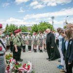 foto: Odsłonięto pomnik  Pamięci sokołowian-Żołnierzy Armii Krajowej, cichociemnych - spadochroniarzy walczących o Niepodległość Ojczyzny - 6T6A8880 150x150