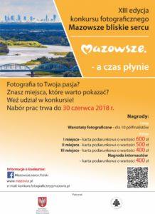 """foto: Konkurs fotograficzny """"Mazowsze bliskie sercu"""" - plakat 2 218x300"""