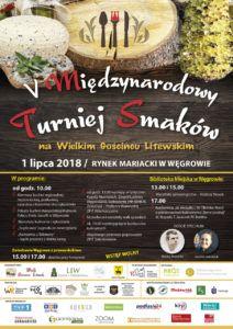 foto: V Międzynarodowy Turniej Smaków na Wielkim Gościńcu Litewskim - Plakat ostateczna wersja 212x300