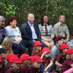 foto: Patriotyczne spotkanie przy Siwym Dębie z Leśną Krainą - IMG 0829 150x150