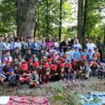 foto: Patriotyczne spotkanie przy Siwym Dębie z Leśną Krainą - IMG 0924 150x150
