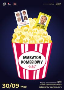 foto: Maraton Komediowy w Kinie Sokół - maraton 212x300