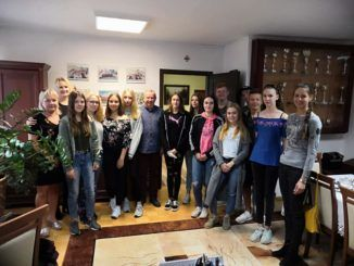 Młodzież z Niemiec w Sokołowie