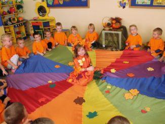 Przedszkolaki podczas zajęć