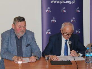 Krzysztof Tchórzewski i Burmistrz Miasta
