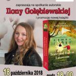 foto: Spotkanie autorskie z Iloną Gołębiewską w MBP - plakat Ilona Muza 150x150