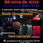foto: Recital od serca do serca - piosenki z repertuaru Wiery Gran w MBP - plakat M Chrzastowska 150x150