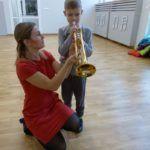 foto: Przedszkolaki z MP2 odwiedziły Szkołę Muzyczną I Stopnia - P1070476 150x150