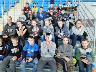 Uczniowie podczas wycieczki