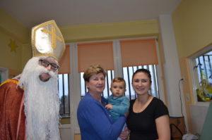 foto: Święty Mikołaj w sokołowskim szpitalu... - DSC 0656 300x199