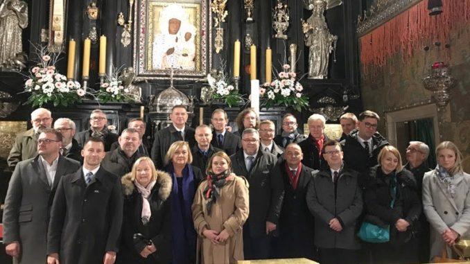 Członkowie zarządu w Częstochowie