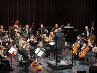 Artyści podczas koncertu