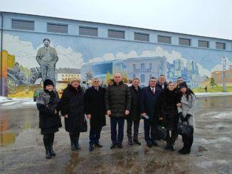 Delegacje miast partnerskich w Sokołowie
