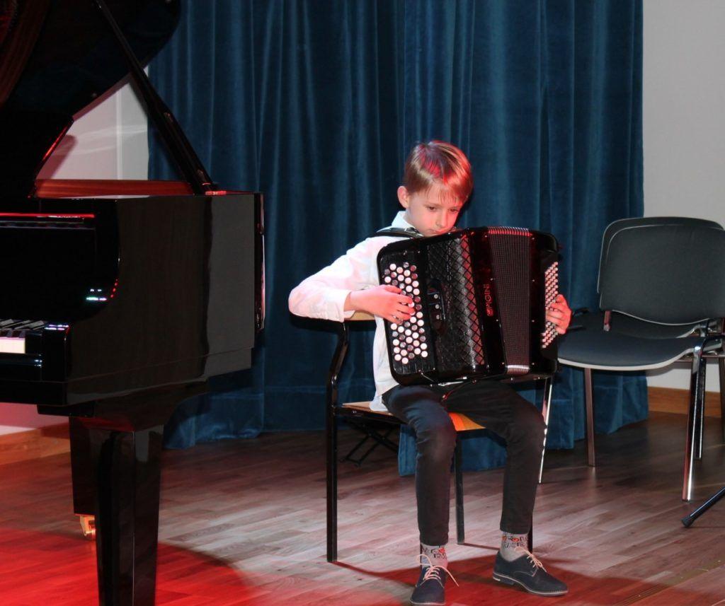foto: Koncert Zimowy w wykonaniu uczniów Szkoły Muzycznej - 6 3 1024x857