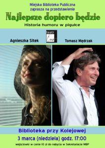 """foto: """"Najlepsze dopiero będzie"""" - Plakat Teatr TM 728x1024"""