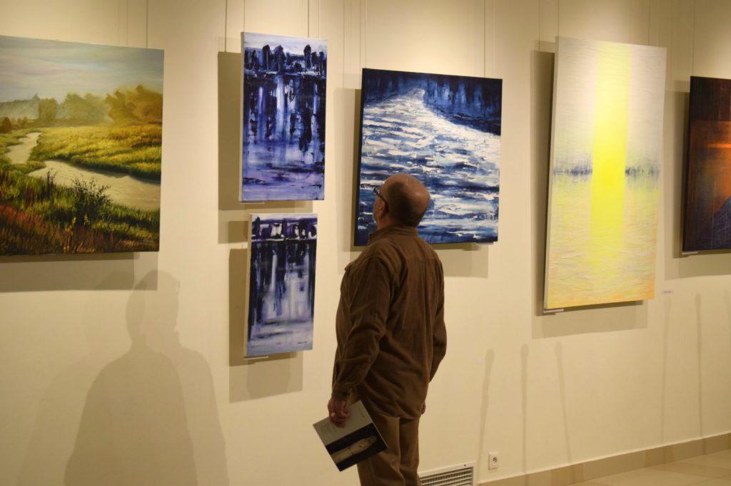 foto: Drohiczyn 2018 - wystawa poplenerowa w Galerii DOM - DSC 0065 1024x682