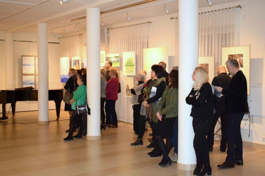 foto: Drohiczyn 2018 - wystawa poplenerowa w Galerii DOM - DSC 0084 1024x682