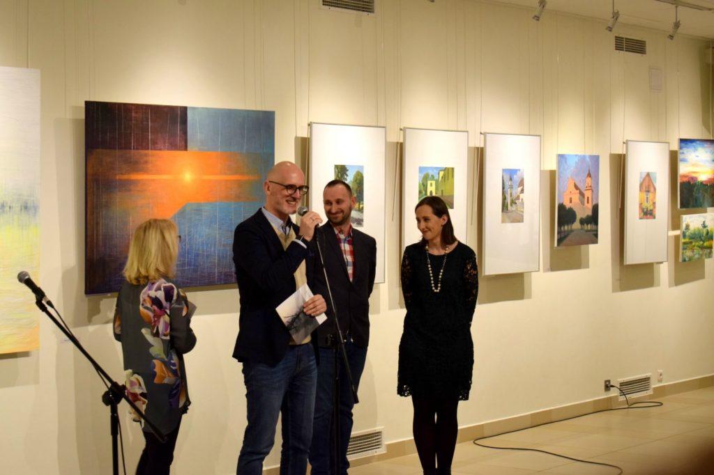 foto: Drohiczyn 2018 - wystawa poplenerowa w Galerii DOM - DSC 0089 1024x682