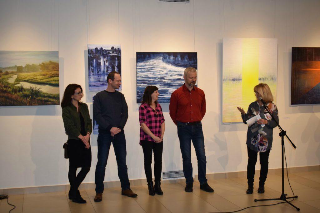 foto: Drohiczyn 2018 - wystawa poplenerowa w Galerii DOM - DSC 0100 1024x682